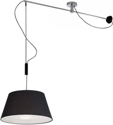 Moderné svietidlo AZZARDO MALAGA  čierna AZ2313