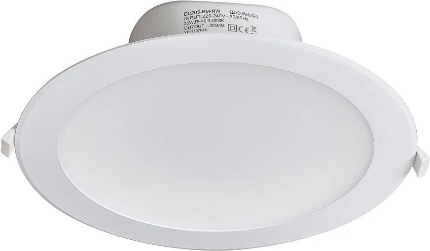 Rábalux 5901 Zápustné Bodové Svetlá biely LED 25W