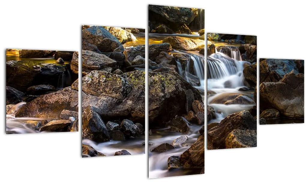 Obraz kamenistého potoku (125x70 cm), 40 ďalších rozmerov