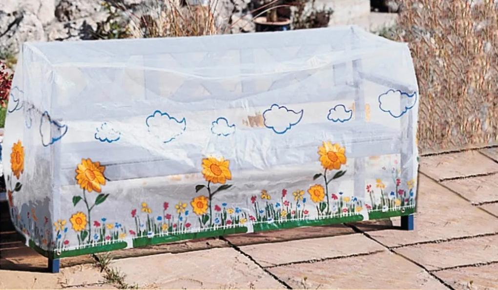 Die moderne Hausfrau Ochranný obal na zahradní lavičku