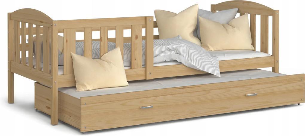 GL Borovicová posteľ Kuba P2 Rozmer: 190x80