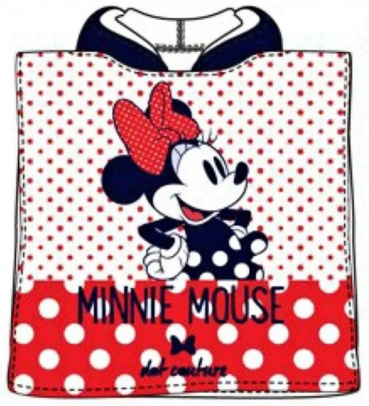 SunCity · Detské kúpacie pončo - osuška s kapucňou - Minnie Mouse - Disney