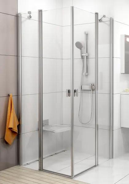 Ravak Chrome sprchové dvere CRV2-90 lesk / transparent