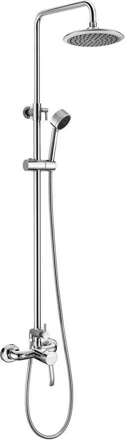 SAPHO - LUKA sprchový sloup s pákovou baterií, chrom (LK139)