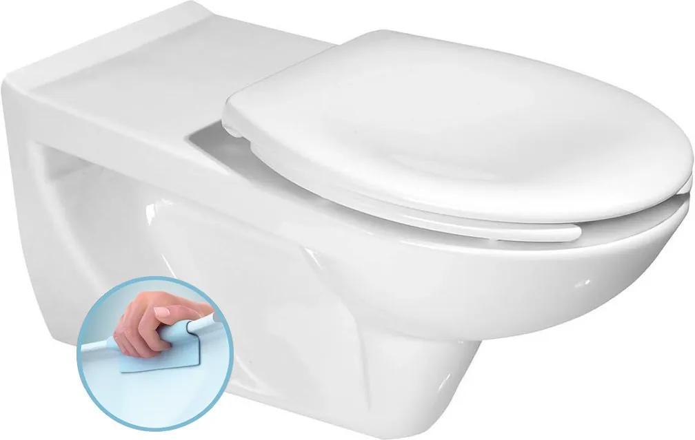 Etiuda K670-002 WC závesné pre telesne postihnutých, CLEAN ON