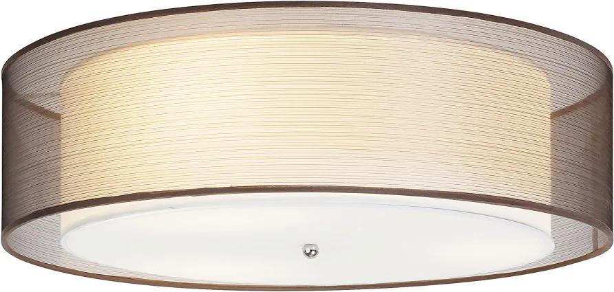 Rábalux 2634 Stropné Svietidlá chróm hnedý E14 3x MAX 25W 16,5 x 49,5 x 49,5 cm
