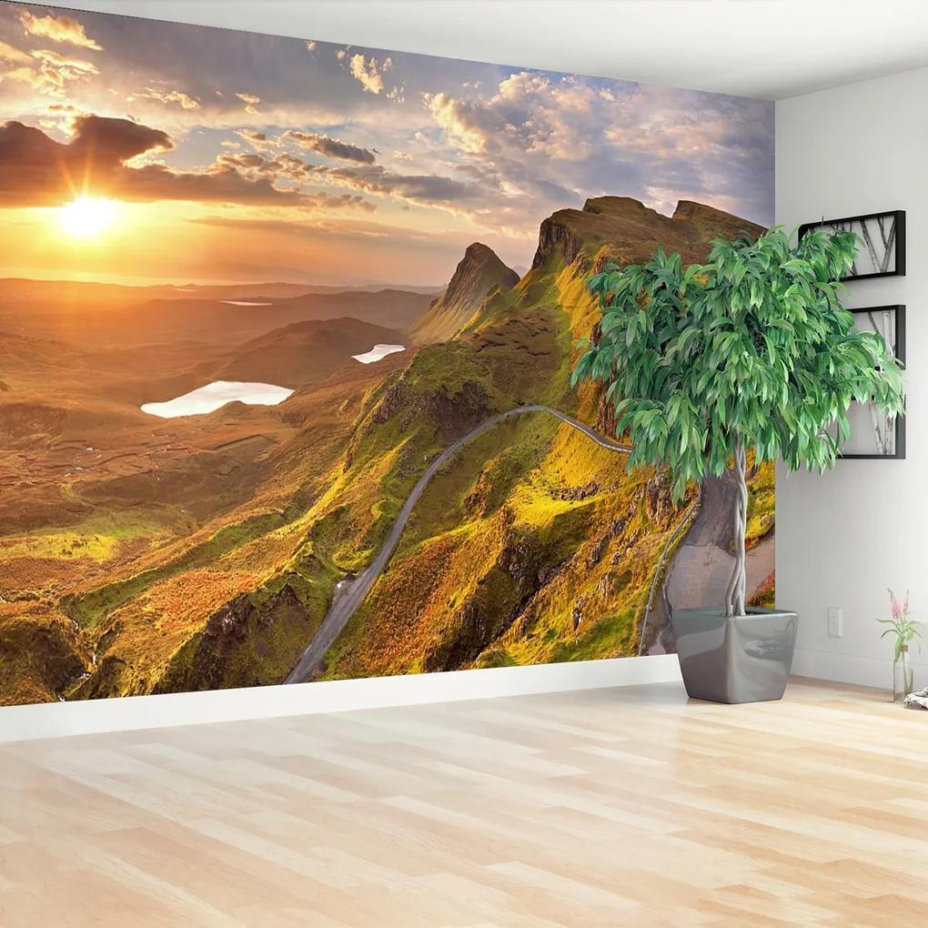 Fototapeta Východ slunce hory