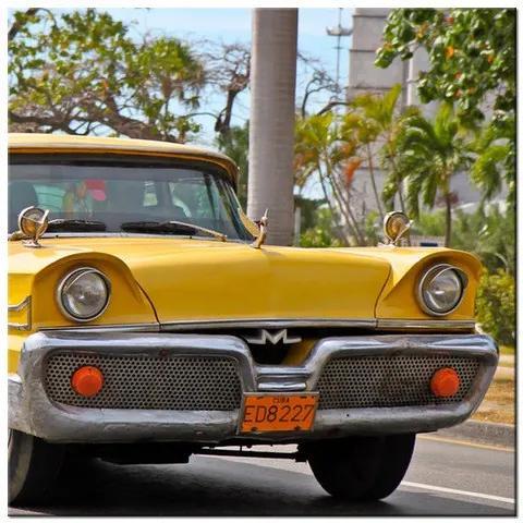Tlačený obraz Classic Oldsmobile v Havane na Kube 2090A_1AI