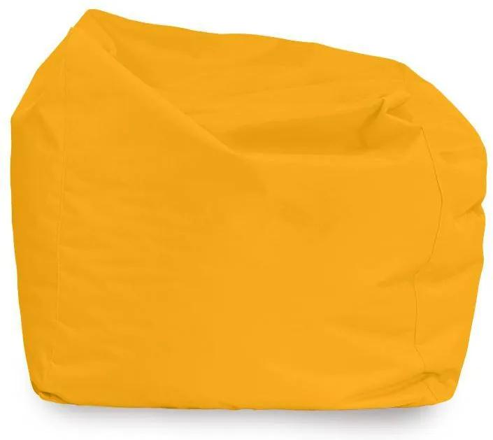 Sedací vak AMALFY nylon - žltý