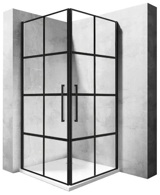 Sprchový kout Rea Rubik černý