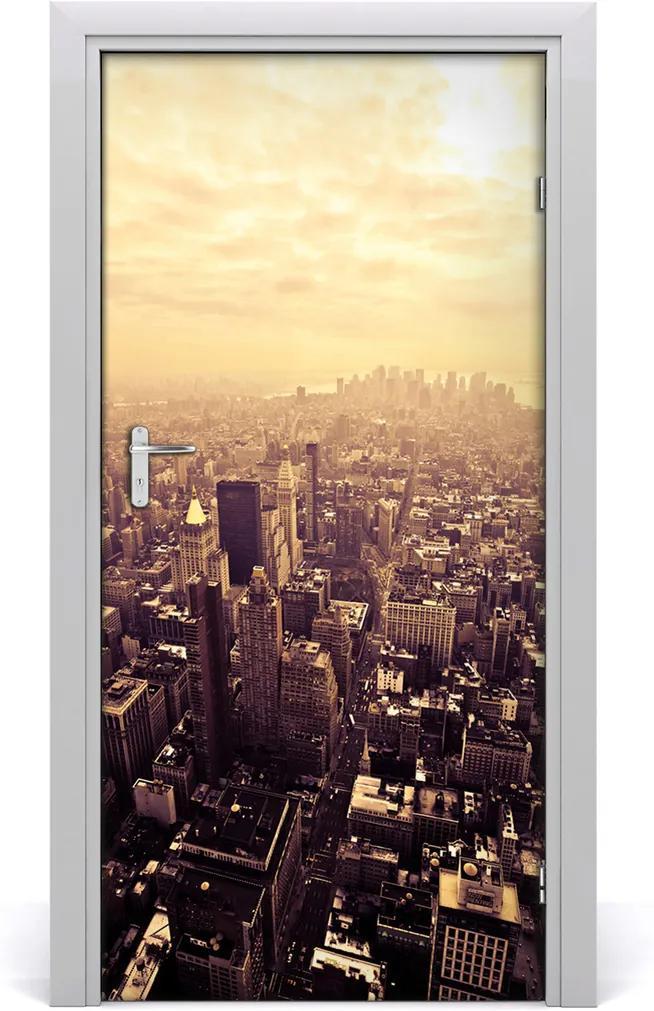 Fototapeta samolepící dveře Manhattan new york