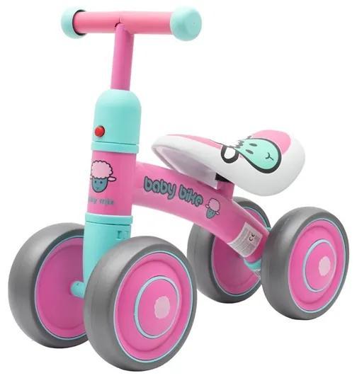 BABY MIX | Nezaradené | Detské odrážadlo Baby Mix Baby Bike pink | Ružová |