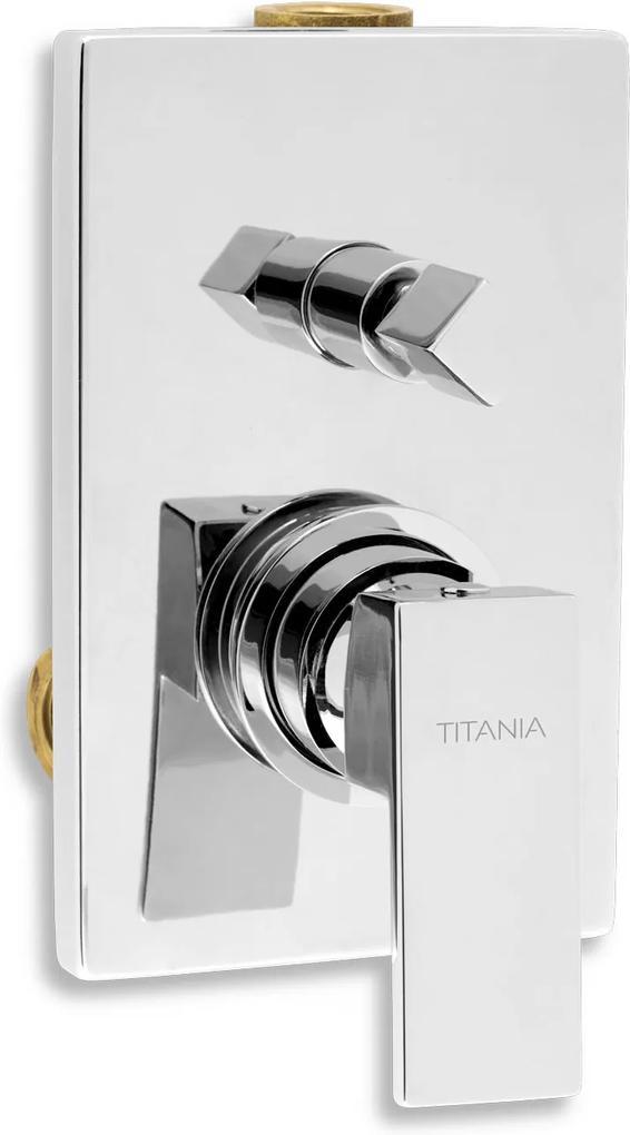 Novaservis Titania Cube 98850R,0 vaňová podomietková batéria