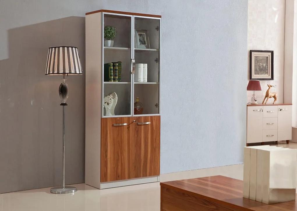Bemondi Moderná kancelárska vitrína EVOLUTIO C308