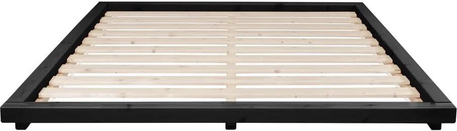Posteľ z borovicového dreva Karup Design Dock, 180 × 200 cm