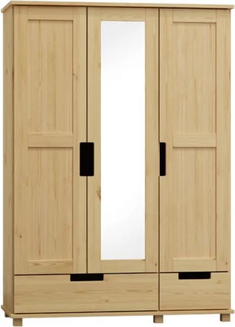 AMI nábytok Skříň Modern bílá 133 cm