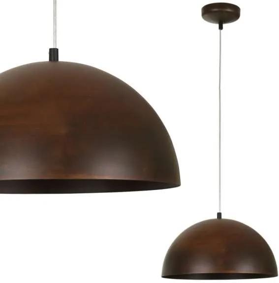 Rustikálne svietidlo Nowodvorski Hemisphere Rust 6367 - Pôvodne 84.80 € = Zľava 50%
