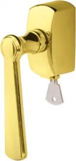 Kľučka na eurookná Belvedere DK s možnosťou uzamykania na klúč