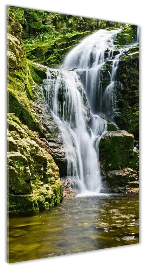 Foto obraz akrylový na stenu Vodopád pl-oa-70x140-f-57830401