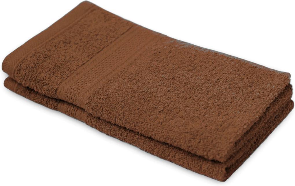 Detský uterák BAMBI tmavo hnedý 30x50 cm