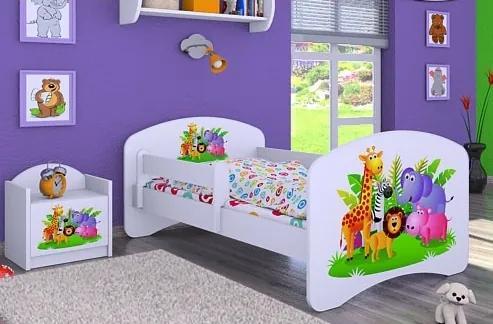 MAXMAX Detská posteľ bez šuplíku 180x90cm MADAGASKAR