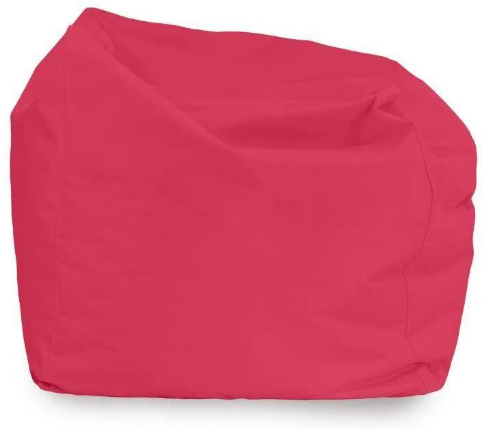 Sedací vak AMALFY nylon - ružový