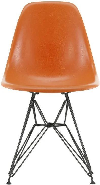 Vitra Stolička Eames Fiberglass DSR, red orange