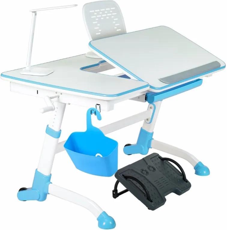 FD Písací stôl Amorto - rastúci 3 farby Farba: Modrá