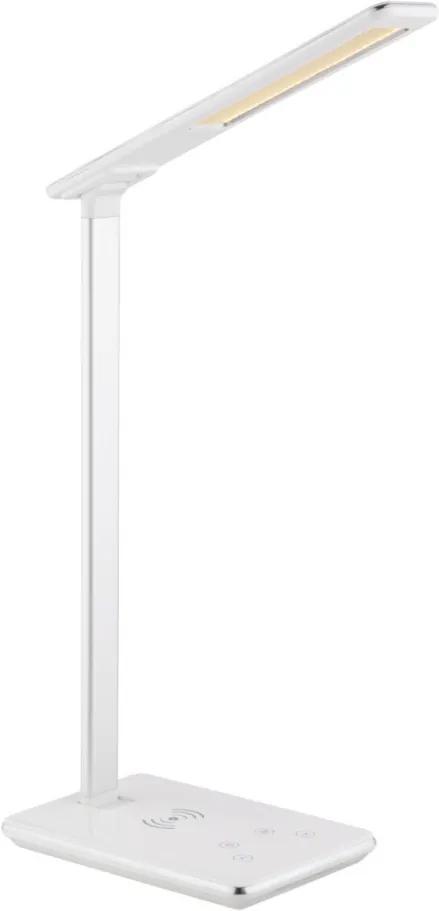 Globo 58297 Pracovné Stolné Lampy HEKLA biely plast 1 x max. 5W 160lm IP20 A