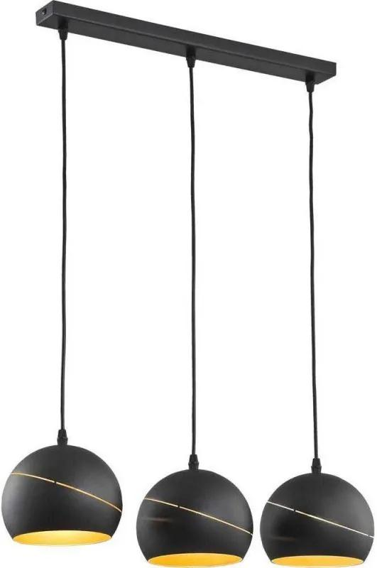 Závesné svietidlo YODA Black 2081