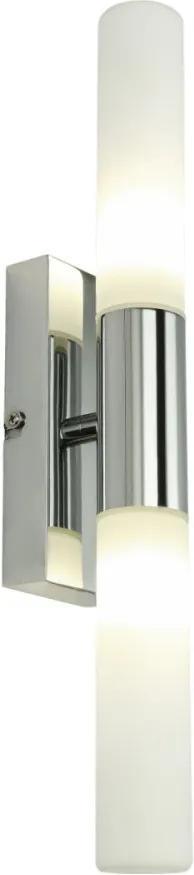 Globo 41521-2L Nástenné Kúpeľňové Lampy chróm biely LED - 2 x G9 max. 3W