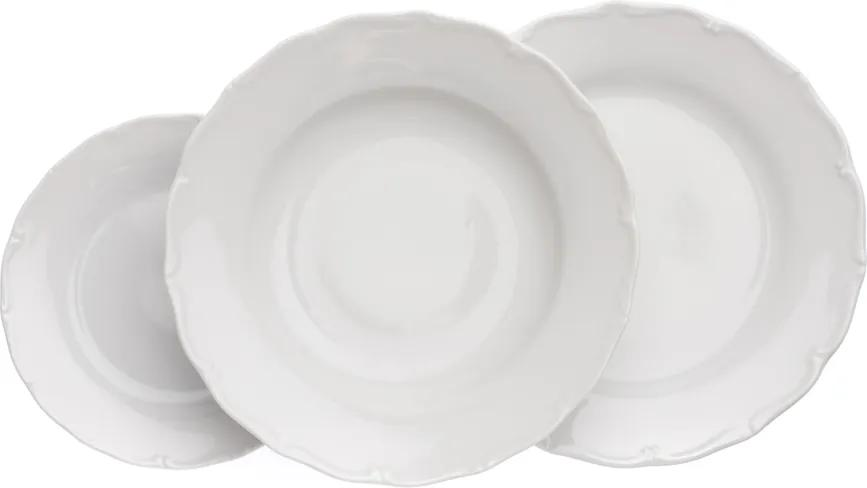 Verona, talířová souprava, bílá, G. Benedikt, 18 d.