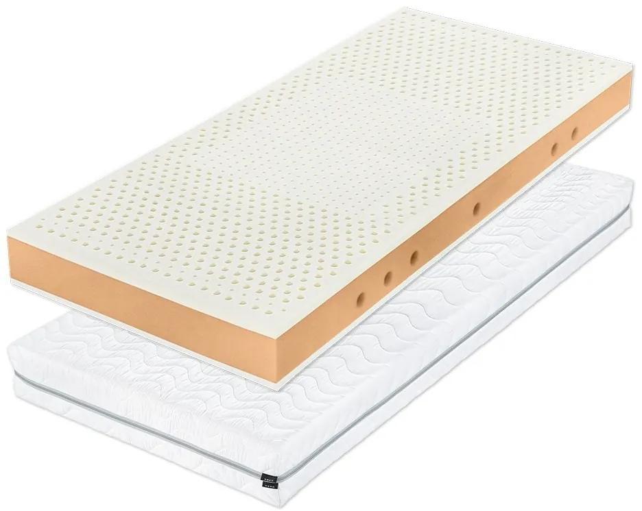 Tropico ŠÁRKA 18 cm - matrac vhodný pre deti s bio latexom a HR penou 90 x 220 cm