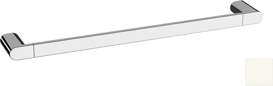 Flori RF009/14 držiak uterákov 600x70mm, biely matný