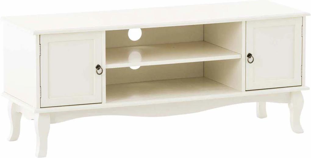 TV stolík s policou a dverami Juliet, 120 cm