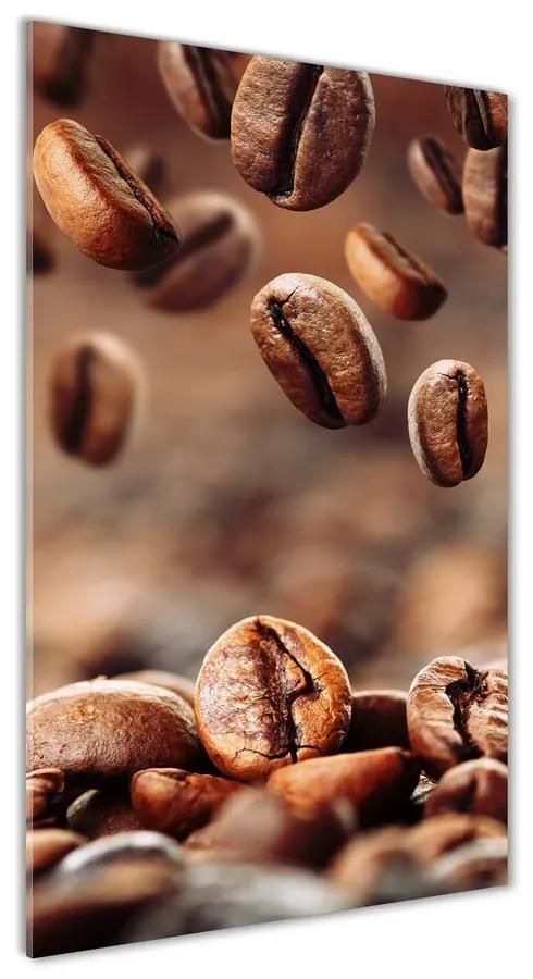 Moderný akrylový fotoobraz Zrnká kávy pl-oa-70x140-f-49006486