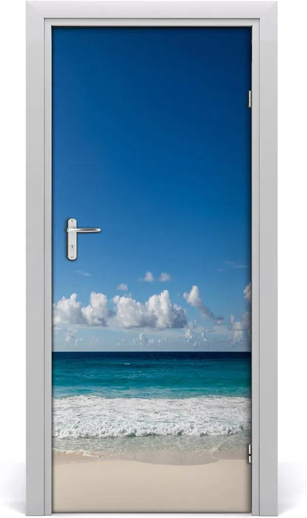 Fototapeta na dveře samolepící Tropická pláž