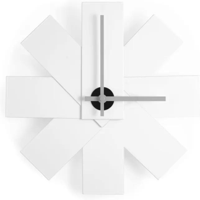 Normann Copenhagen Nástenné hodiny Watch Me, White