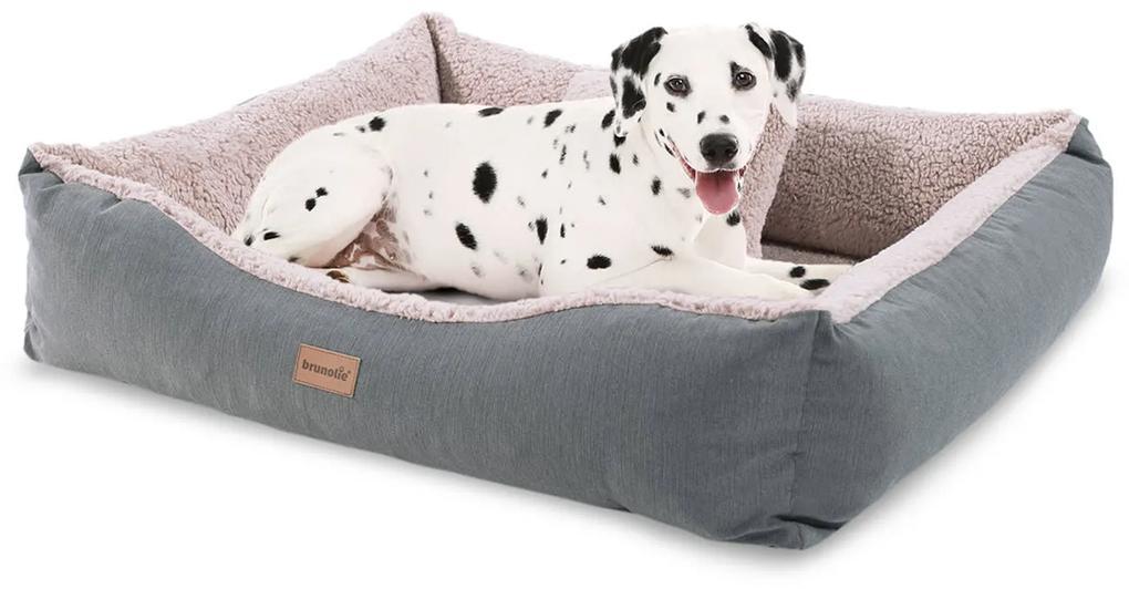 Emma, pelech pre psa, kôš pre psa, možnosť prania, protišmykový, priedušný, obojstranný matrac, vankúš, veľkosť M (80 × 20 × 70 cm)