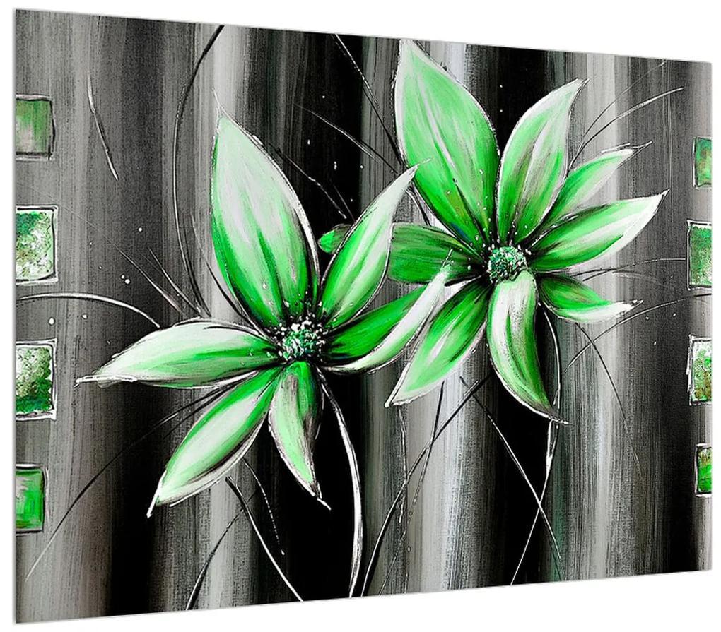 Moderný obraz kvetov (K012357K7050)