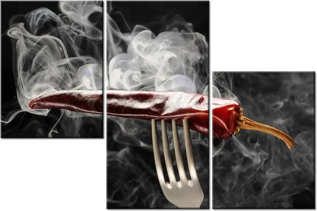 Tlačený obraz Horúca chilli paprička 90x60cm 1199A_3L