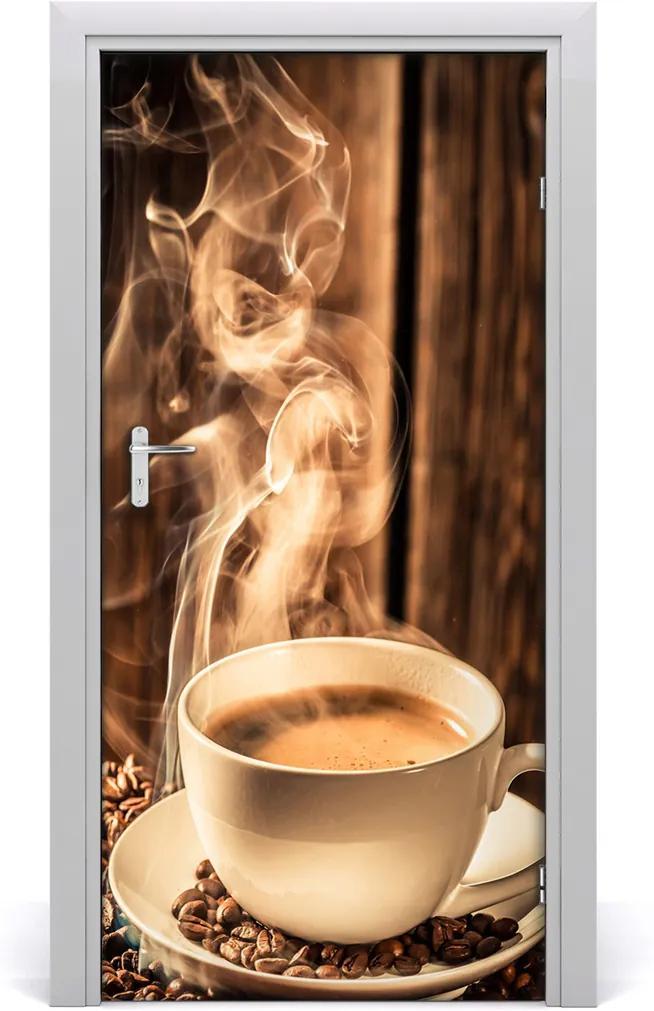 Fototapeta na dveře samolepící Aromatická káva