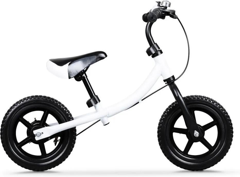 Eco Toys Odrážadlo, bielo-čierny