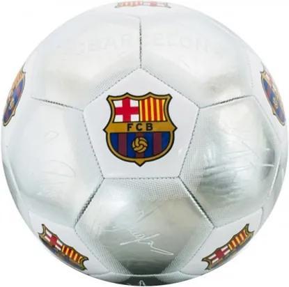 Futbalová lopta FC BARCELONA Silver Signature (veľkosť 5) FC BARCELONA BRC1116x