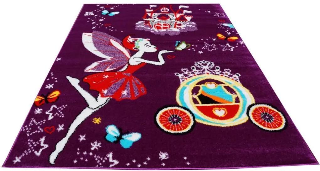 MAXMAX Detský koberec Čarovná víla