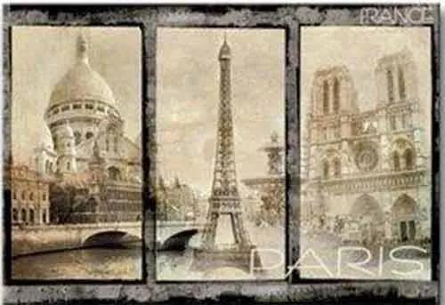 Fototapety, rozmer 368 x 254 cm, Paríž, IMPOL TRADE 8-021