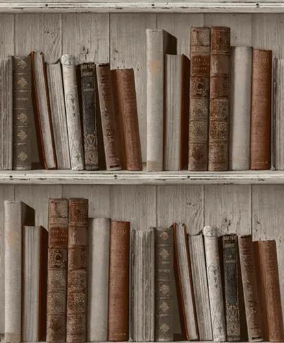 Vliesové tapety, knižnica, Facade FC3402, GRANDECO, rozmer 10,05 m x 0,53 m
