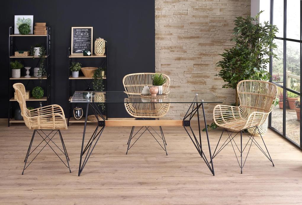 Moderný jedálenský stôl Alessio