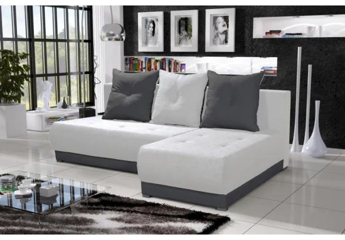 Elegantná sedacia súprava LEONARD, krémová + šedá