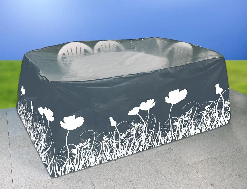 WENKO Ochranný obal na zahradní nábytek ANTHRAZIT